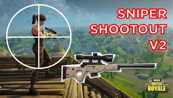 SNIPER SHOOTOUT IN ANARCHY = EPIC (Fortnite Gameplay)