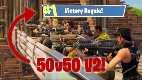 50v50 Highlights (Fortnite Gameplay)