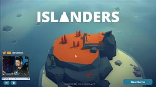 Debut Stream – Playing ISLANDERS [New Game On Steam] | Stream Recap: 05-04-2019